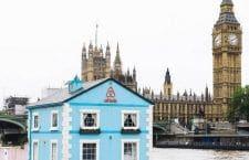 Nuit à Londres sur la tamise dans la maison flottante AirBnb