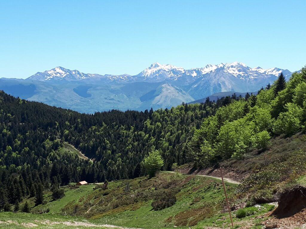 Montagnes vue depuis le Val d'Azun