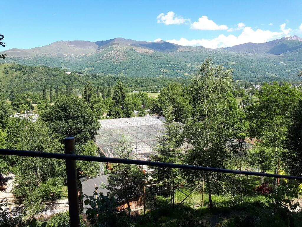 Montagnes vues du parc animalier d'Argelès Gazost