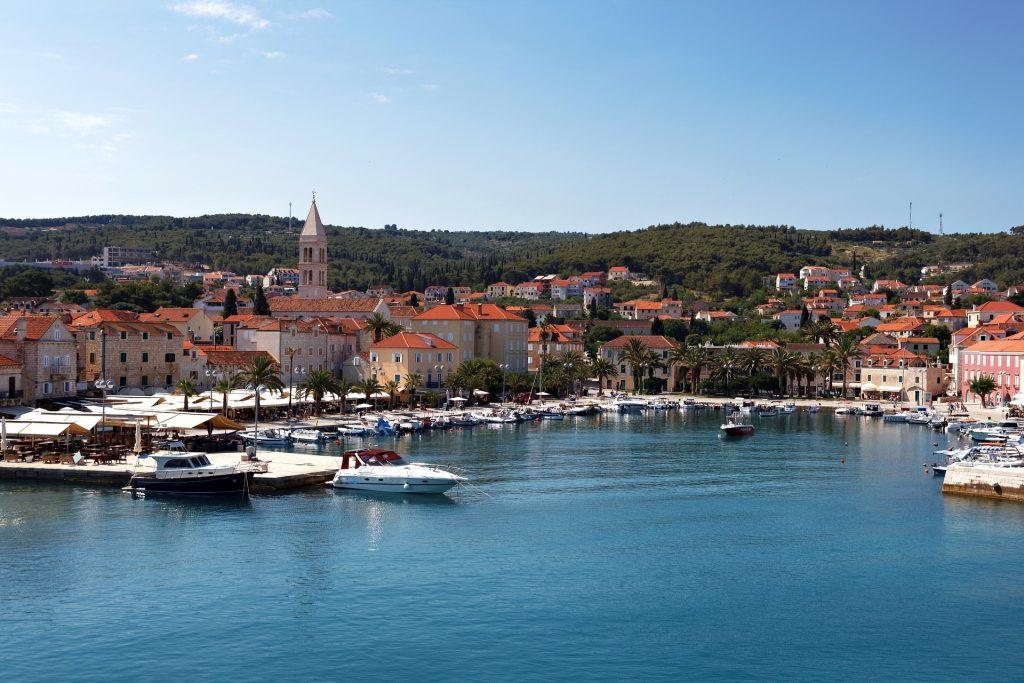 Port de la ville de Hvar