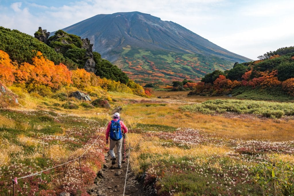 Randonnée dans le parc naturel de Daisetsuzan