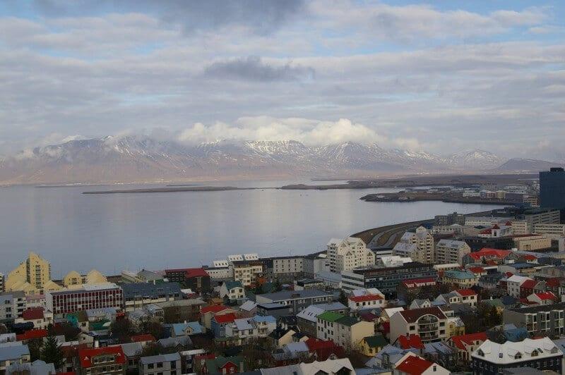 Reykjavík vu par  Bryan Pocius