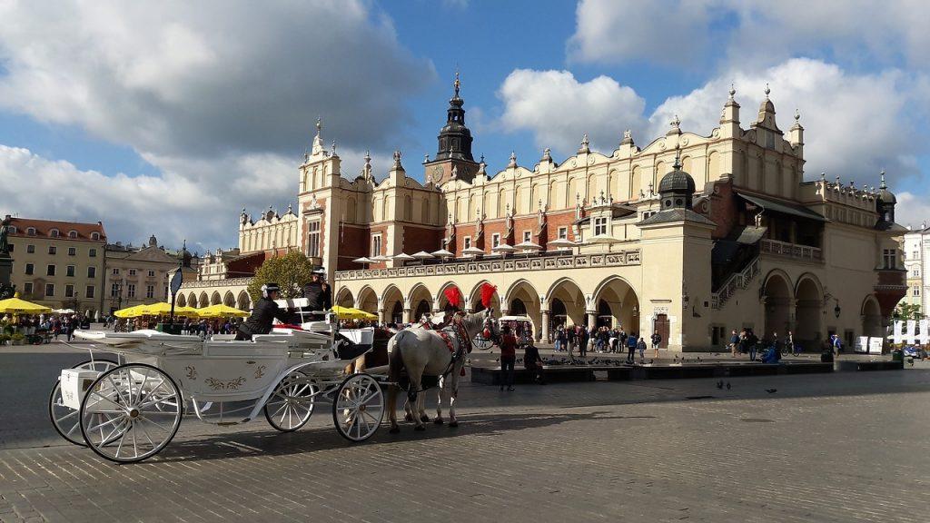 Rynek, la place de marché médiévale de Cracovie