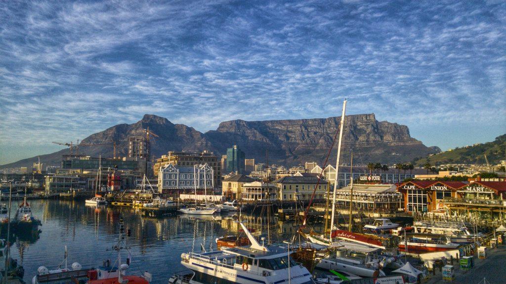Le port de Cape Town.