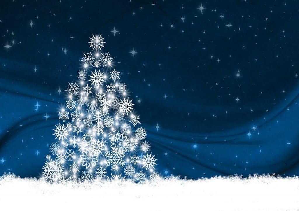 Dessin d'un beau sapin de Noel