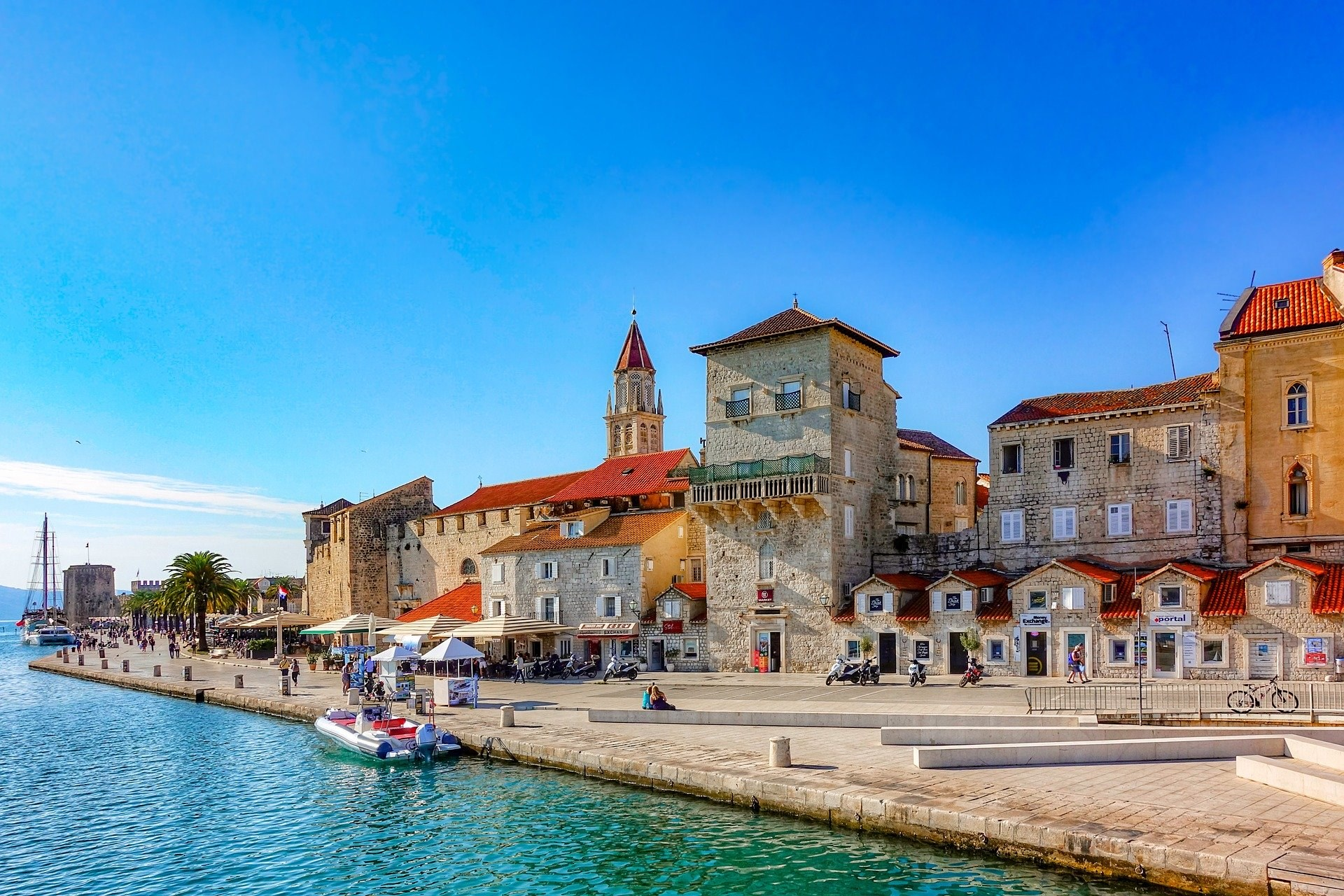 Vacances en Croatie sur la mer Adriatique