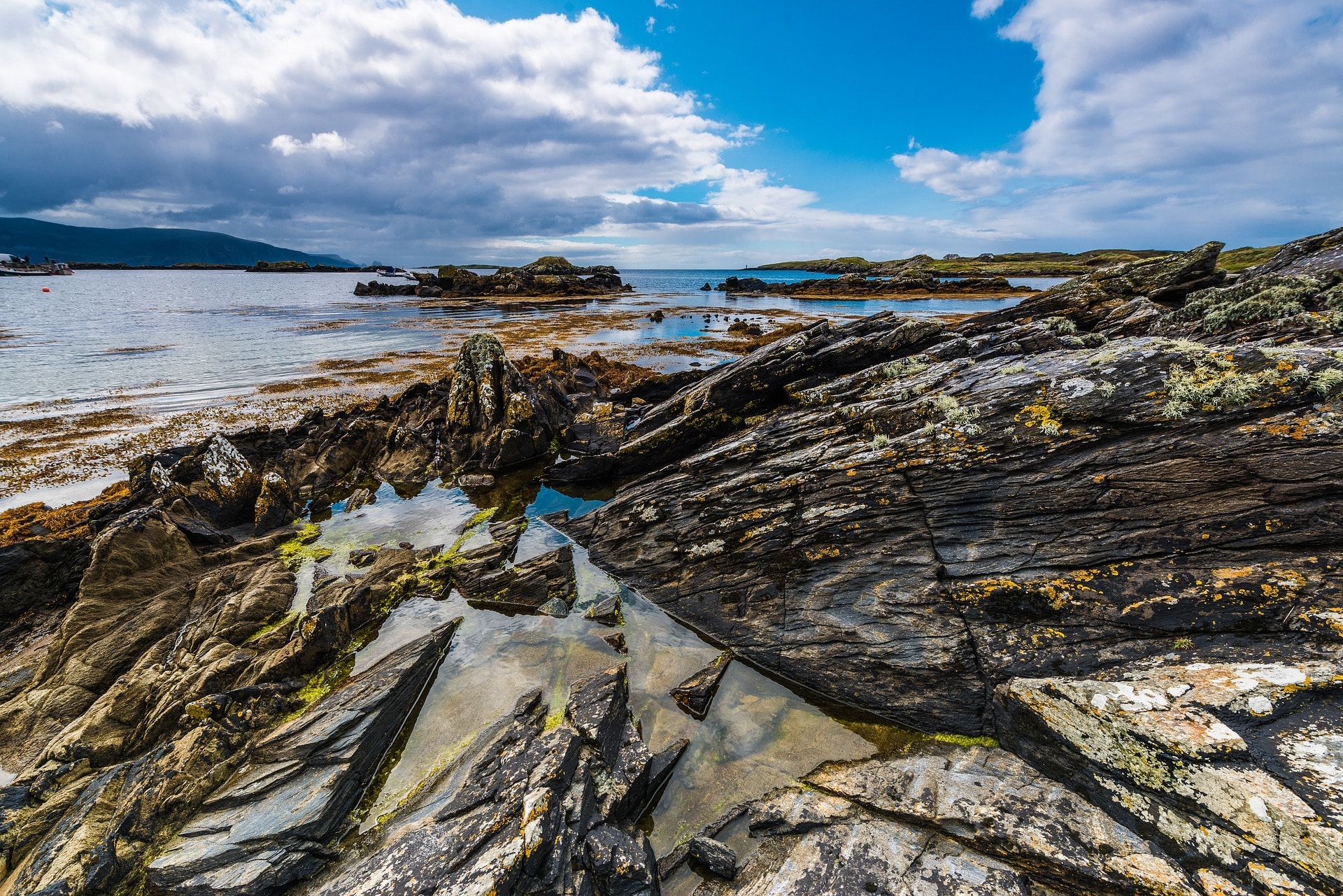 Côte Atlantique dans le Comté de Donegal