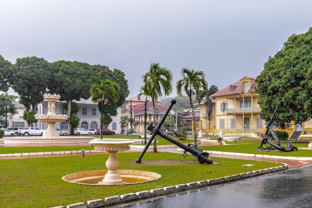 Musée départemental de la Francophonie à Cayenne