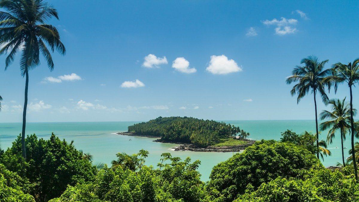 Île du diable vue de île Royale