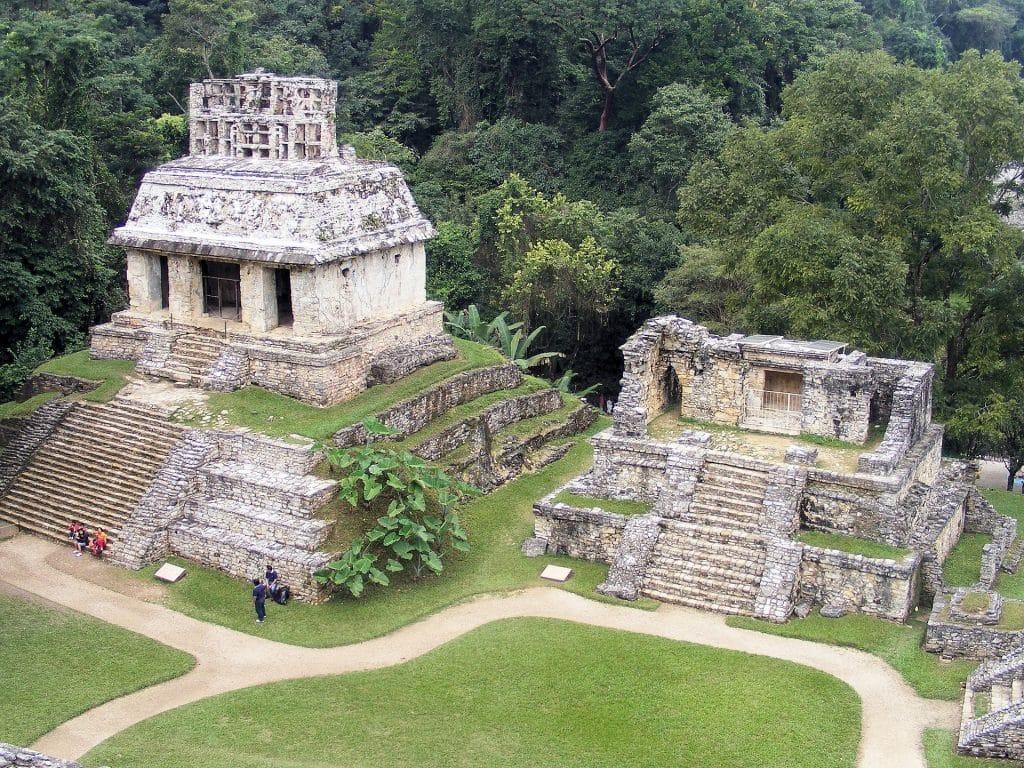 Ruines préhispaniques de la cité de Palenque