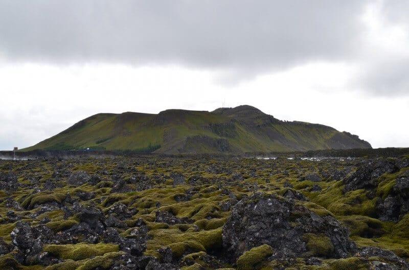 Paysage lunaire façonné par les volcans - Photo : Eric Sonstroem