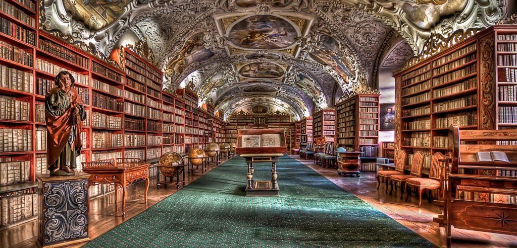 Grande galerie de la bibliothèque Strahov