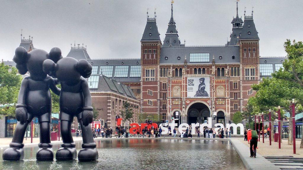 Parvis du Rijksmuseum