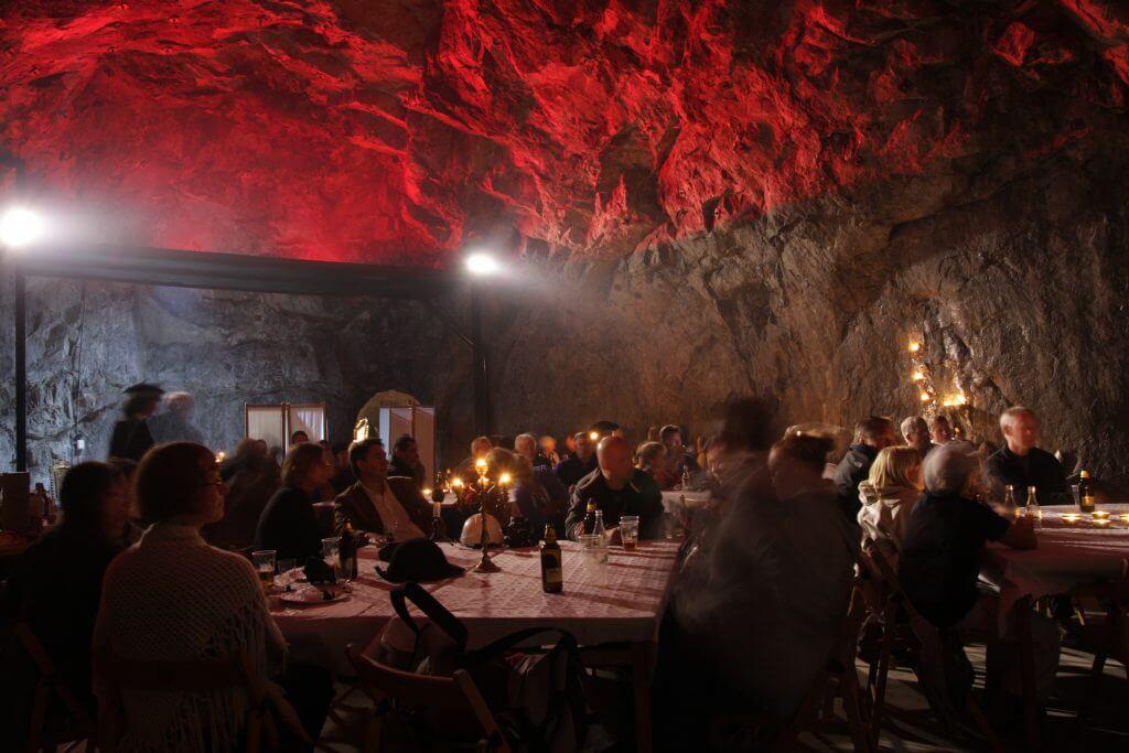 Salle de réception adjacente à la Mine suite © Jan-Olof Åkerlund