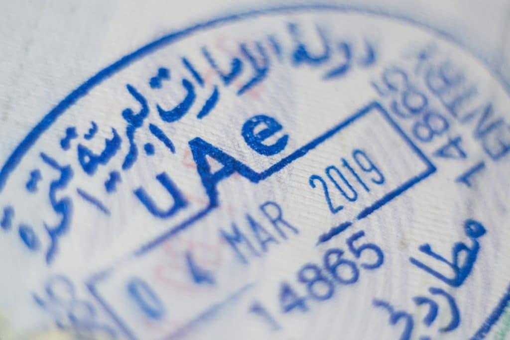 Visa pour les Émirats Arabes Unis (UAE) comme Dubaï ou Abou Dhabi